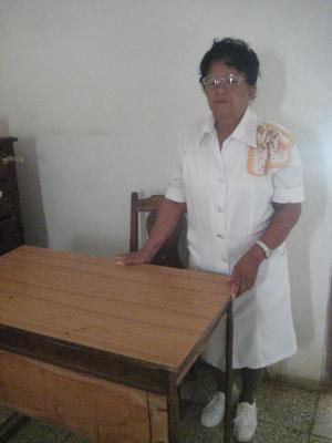 Marcelina la enfermera, una mujer que vence al tiempo